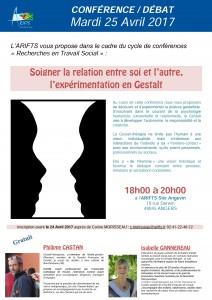 Conférence sur la Gestalt à l'ARIFTS anjou @ ARIFTS | Angers | Pays de la Loire | France